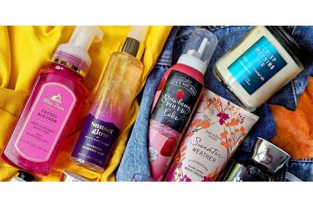 Найпопулярніші аромати Bath & Body Works