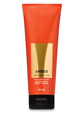 Крем для тіла з олією ши Amber Men's Collection Bath and Body Works для чоловіків