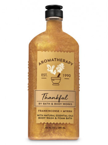 Гель-піна для душа Aromatherapy Thankful by Bath & Body Works - Frankincense Myrrh