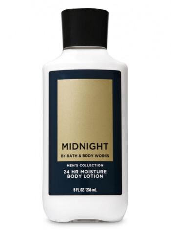 Лосьйон для тіла Midnight Bath and Body Works для чоловіків