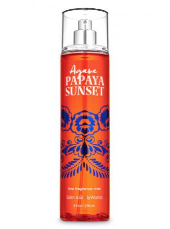 Спрей для тіла Agave Papaya Sunset Bath and Body Works