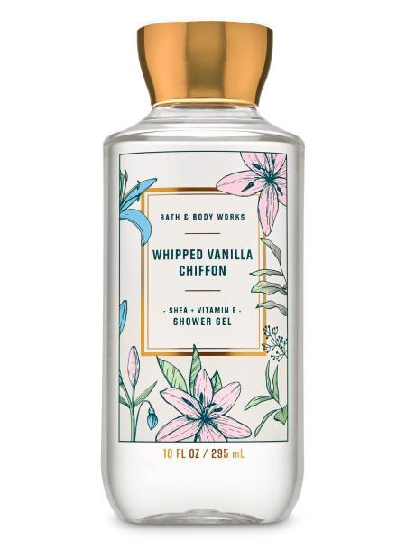 Гель для душа Whipped Vanilla Chiffon от Bath and Body Works