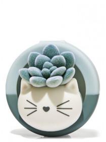 Тримач для ароматизатора від Bath and Body Works - Kitty Succulent Visor Clip