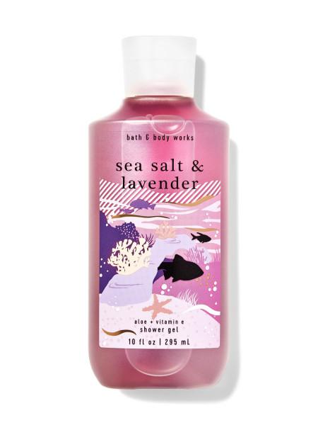 Гель для душа Sea Salt & Lavender від Bath and Body Works