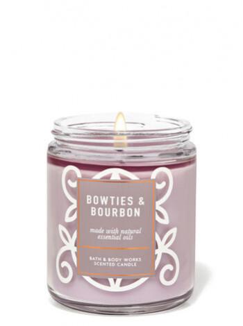 Ароматизована свічка Bowties Bourbon Bath & Body Works