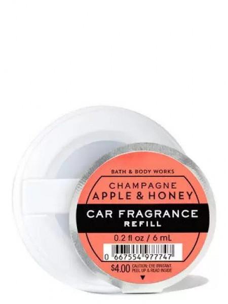 Ароматизатор для автомобиля Champagne Apple & Honey от Bath and Body Works