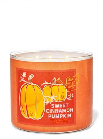 Свічка Sweet Cinnamon Pumpkin Від Bath And Body Works