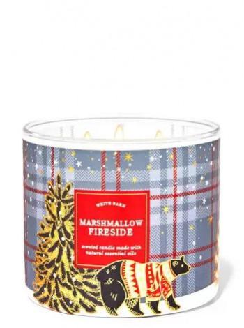 Свічка Marshmallow Fireside Від Bath And Body Works