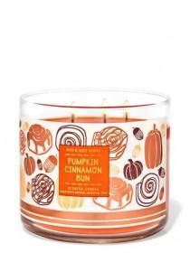 Свічка Pumpkin Cinnamon Bun Від Bath And Body Works