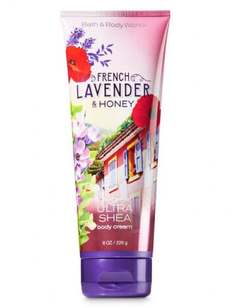 Крем для тела с маслом ши French Lavender & Honey Bath and Body Works