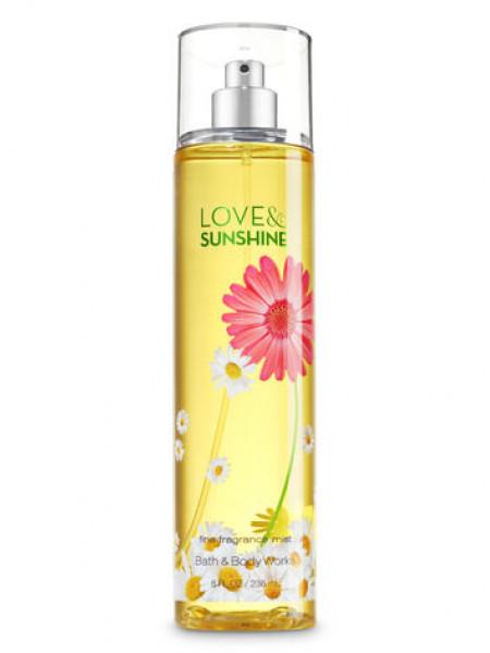 Спрей Love & Sunshine від Bath and Body Works