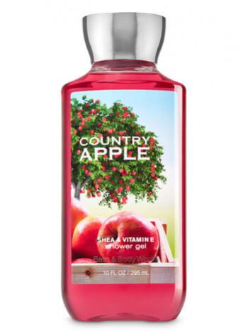 Гель для душа Country Apple від Bath and Body Works