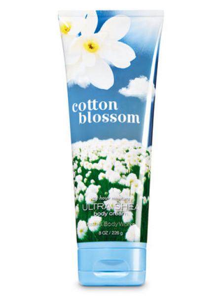 Крем для тіла з олією ши Cotton Blossom Bath and Body Works