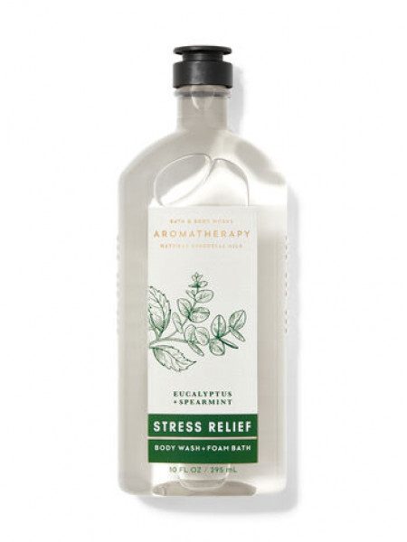 Гель-Пена Для Душа Aromatherapy Stress Relief By Bath&Body Works - Eucalyptus Spearmint