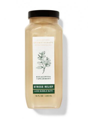 Піна Для Ванни Aromatherapy Stress Relief Eucalyptus Spearmint Від Bath And Body Works