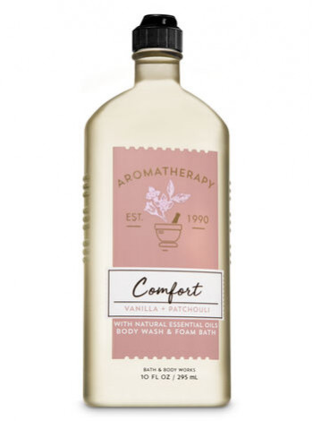 Гель-Піна Для Душа Aromatherapy Comfort By Bath & Body Works - Vanilla Patchouli