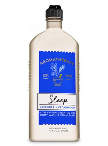 Гель-Піна Для Душа Aromatherapy Sleep By Bath & Body Works - Lavender Cedarwood