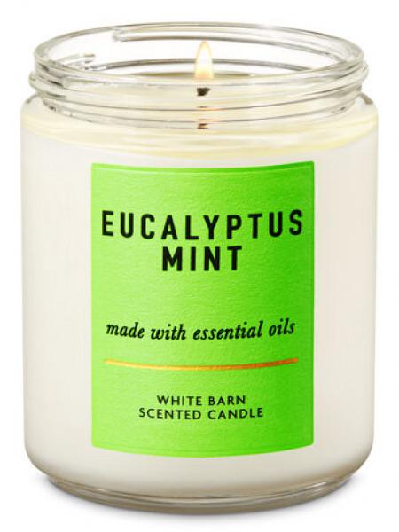 Ароматизированная свеча Eucalyptus Mint Bath & Body Works