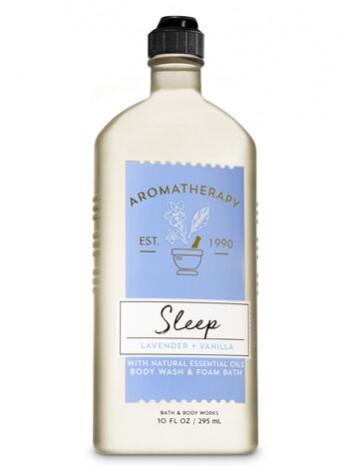 Гель-Піна Для Душа Aromatherapy Sleep By Bath & Body Works - Lavender Vanilla