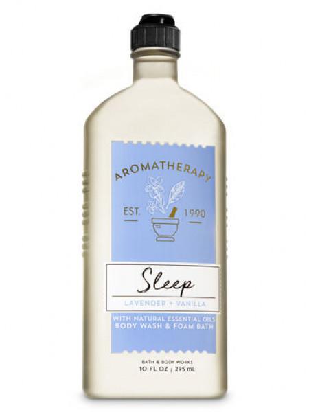 Гель-Пена Для Душа Aromatherapy Sleep By Bath&Body Works - Lavender Vanilla