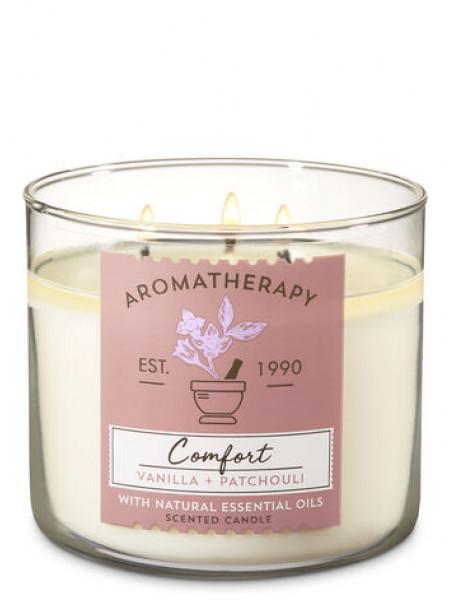 Свічка Aromatherapy Comfort Vanilla Patchouli від Bath And Body Works
