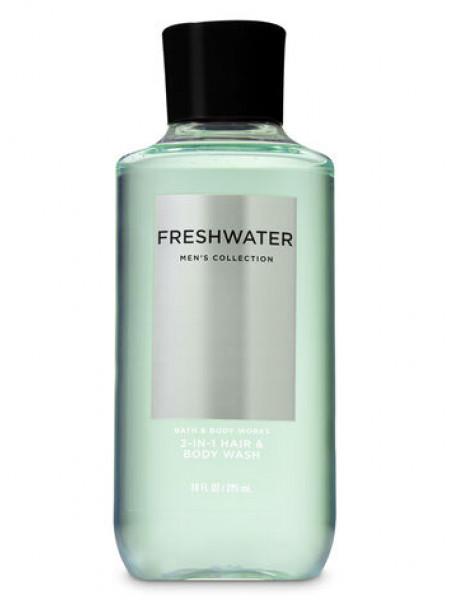 Шампунь для волосся і гель для душу 2в1 Bath and Body Works 2-in-1 Hair & Body Wash Freshwater