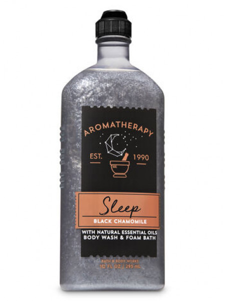 Гель-Піна Для Душа Aromatherapy Sleep By Bath & Body Works - Black Chamomile