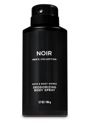 Чоловічий дезодорант Noir від Bath and Body Works