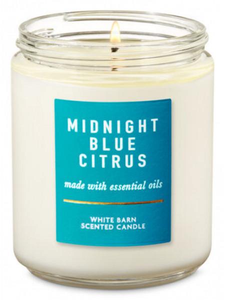 Уценка! Ароматизированная свеча Midnight Blue Citrus Bath & Body Works