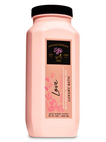 Піна Для Ванни Aromatherapy Love Rose Vanilla Від Bath And Body Works