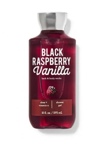 Гель для душа Black Raspberry Vanilla от Bath and Body Works
