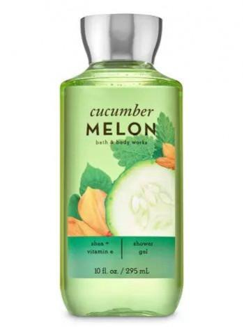 Гель для душа Cucumber Melon от Bath and Body Works
