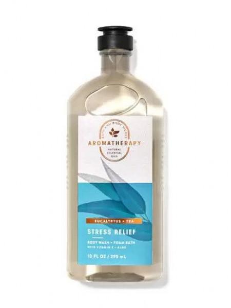 Гель-Пена Для Душа Aromatherapy Stress Relief By Bath&Body Works - Eucalyptus Tea