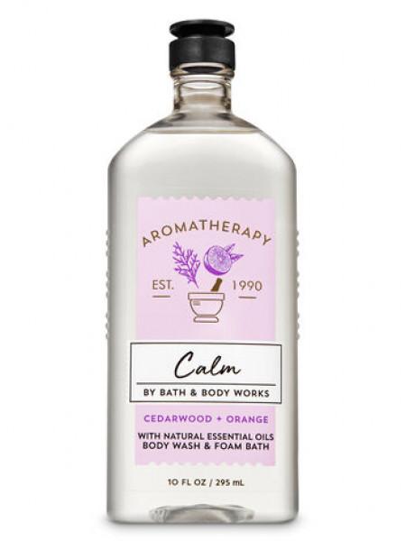 Гель-Піна Для Душа Aromatherapy Calm By Bath & Body Works - Cedarwood Orange