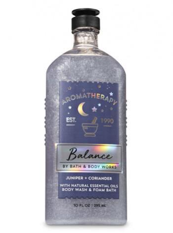 Гель-Піна Для Душа Aromatherapy Balance By Bath & Body Works - Juniper Coriander