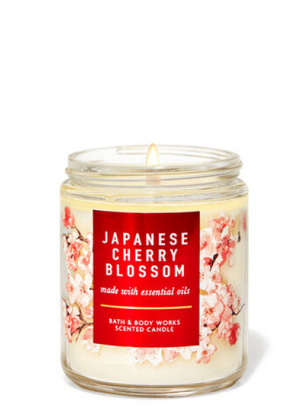 Уценка! Ароматизированная свеча Japanese Cherry Blossom Bath & Body Works