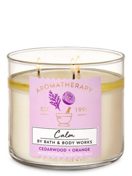 Свічка Aromatherapy Calm Orange Cedarwood від Bath And Body Works