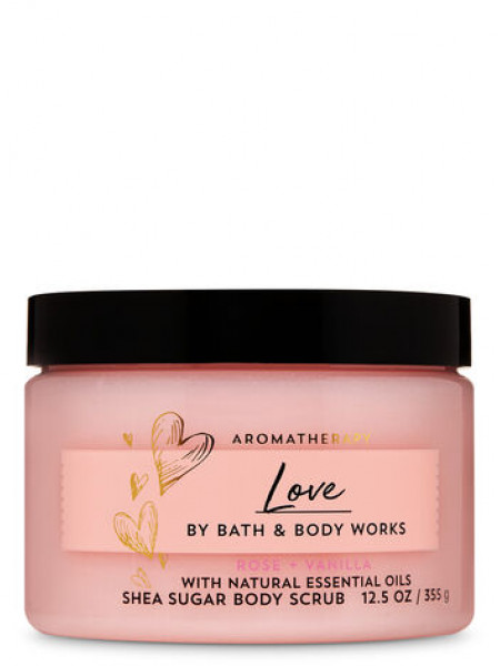 Скраб Aromatherapy Love Rose Vanilla От Bath And Body Works
