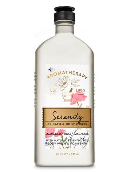 Гель-піна для душа Aromatherapy Serenity by Bath & Body Works - Marigold Rose Magnolia