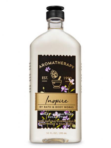 Гель-піна для душа Aromatherapy Inspire by Bath & Body Works - Violet Sandalwood Eucalyptus