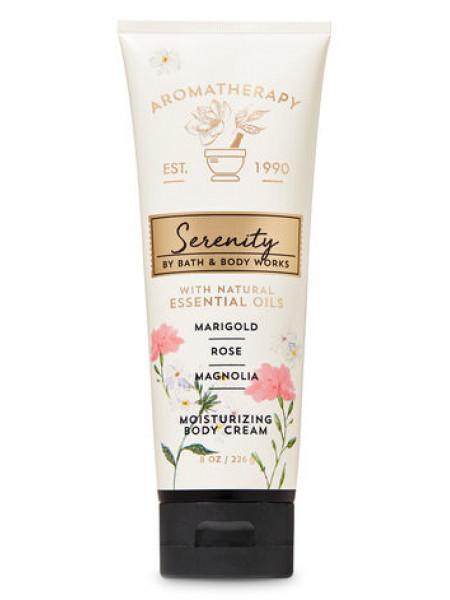 Крем для тіла Aromatherapy Serenity by Bath & Body Works - Marigold Rose Magnolia
