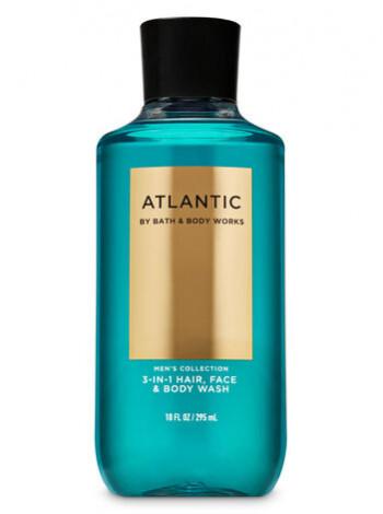 Шампунь для волосся і гель для душу 2в1 Bath and Body Works 2-in-1 Hair & Body Wash Atlantic