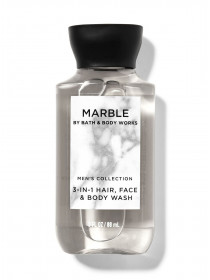 Міні шампунь для волосся і гель для душу 2в1 Bath and Body Works 2-in-1 Hair & Body Wash Marble