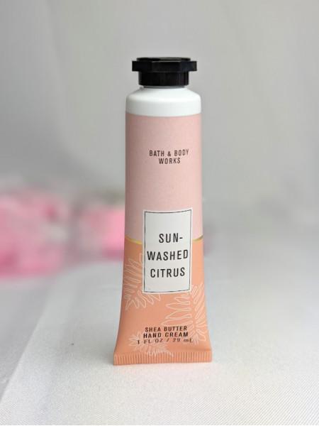 Ароматный крем для рук Bath & Body Works Hand Cream Sun-Washed Citrus 29мл
