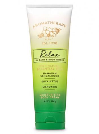 Крем для тіла Aromatherapy Relax by Bath & Body Works - Hawaiian Sandalwood Eucalyptus