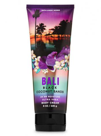 Крем для тела Bali Black Coconut Sands от Bath and Body Works