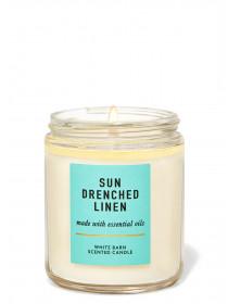 Ароматизована свічка Sun-Drenched Linen Bath & Body Works