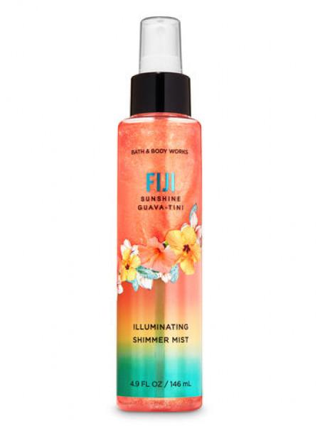 Уценка! Спрей с блестками Fiji Sunshine Guava-Tini от Bath and Body Works