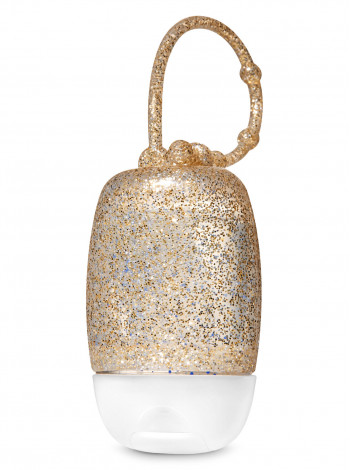 Тримач для антисептика Gold Glitter PocketBac Holder Bath and Body Works