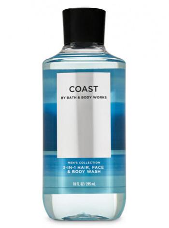 Шампунь для волосся і гель для душу 2в1 Bath and Body Works 2-in-1 Hair & Body Wash Coast